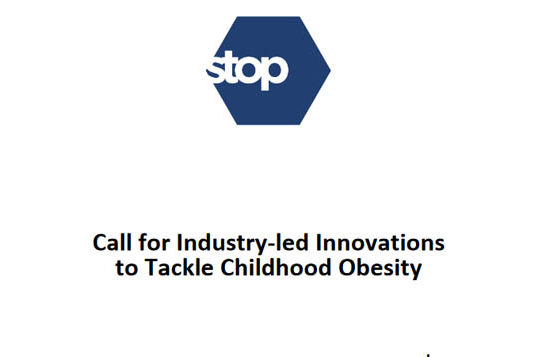 Call for Industry-led Innovations to Tackle Childhood Obesity
