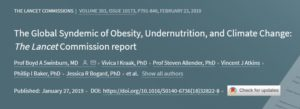 Lancet report on obesity