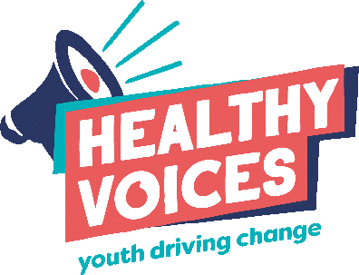 Healthy voices logo