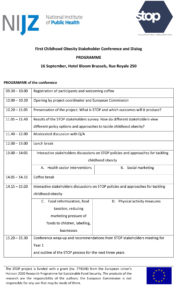 STOP Stakeholders' Conference agenda