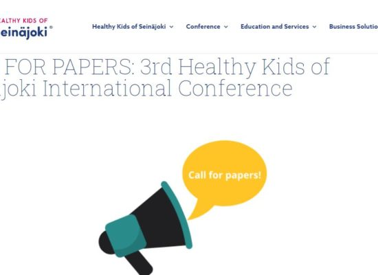 Healthy Kids call for papers