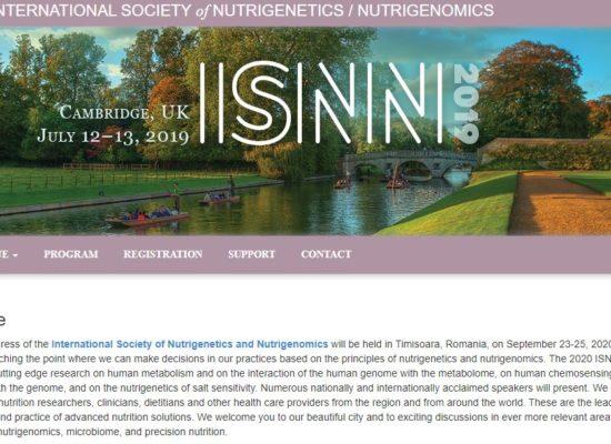 ISNN 2020 Congress announcement