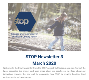 STOP Newsletter 3 - March 2020